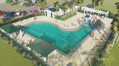 Haines City pool rendering