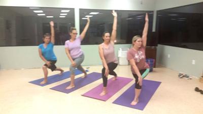 Yoga For Life Feb. 17 Reverse Triangle