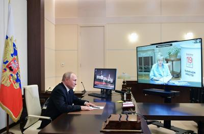 Russia Election Putin