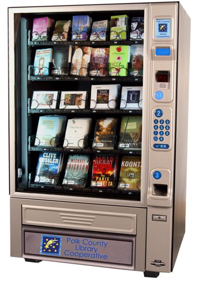 Polk library vending machine