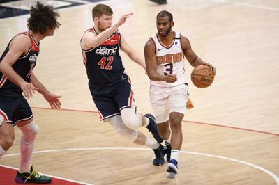 Suns Wizards Basketball