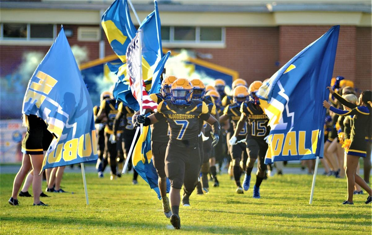 Auburndale football stock image