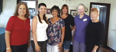 Woman's Club officers