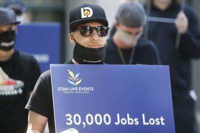 Virus Outbreak Utah Unemployment