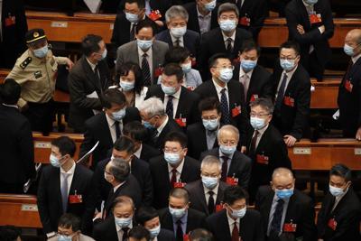 APTOPIX Virus Outbreak China Congress
