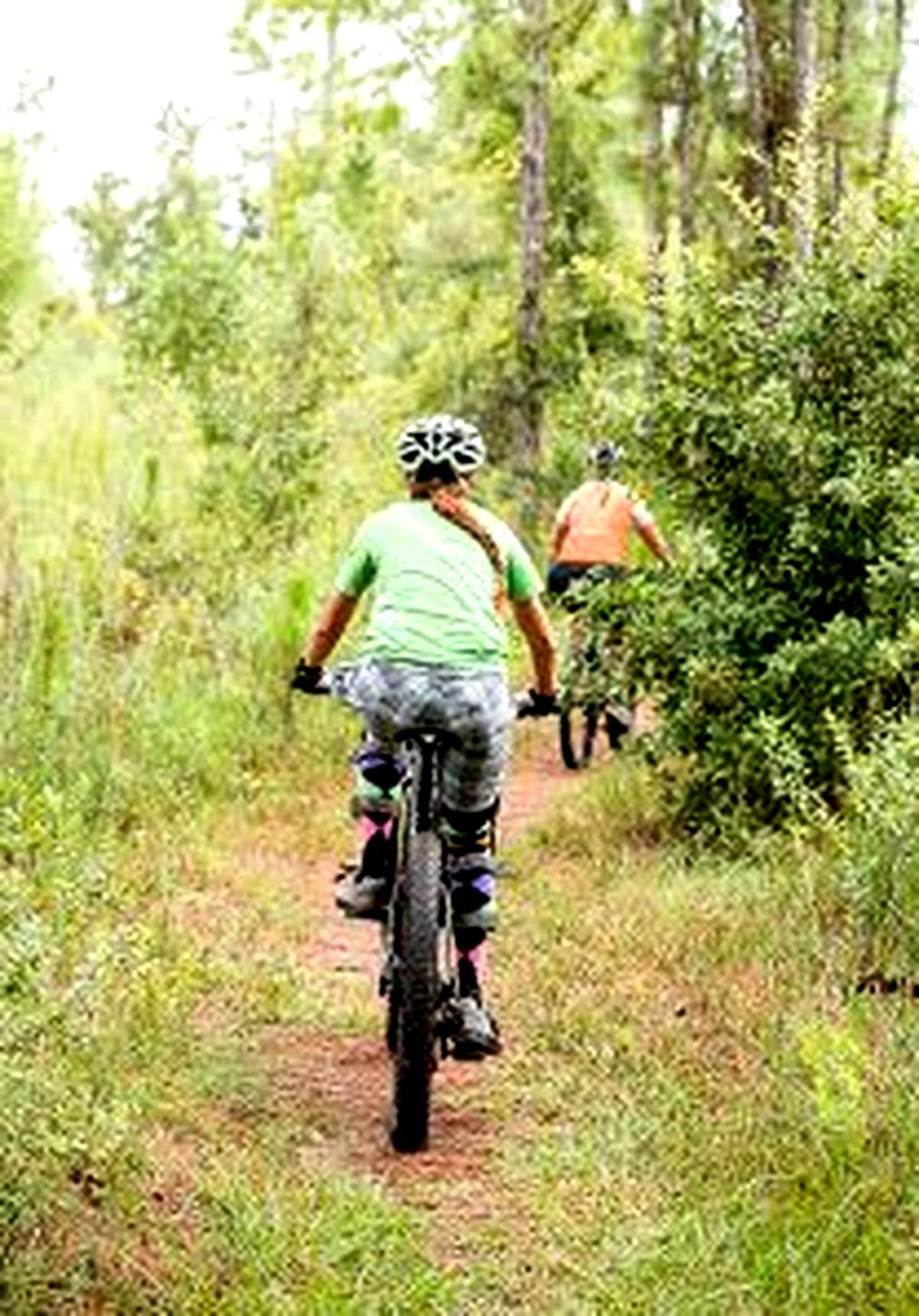 The Preserve bike trails