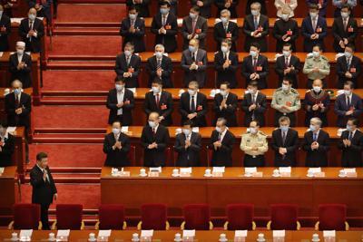 Virus Outbreak China Congress