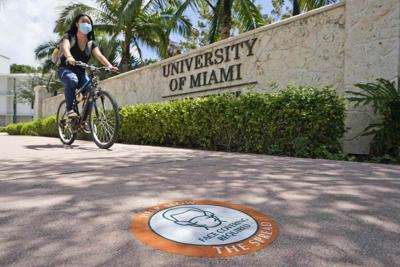 Virus Outbreak Florida Colleges