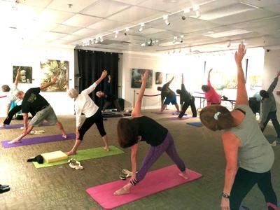 Yoga at PPR museum