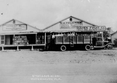 History photo - H.A. Trueman Citrus packing plant