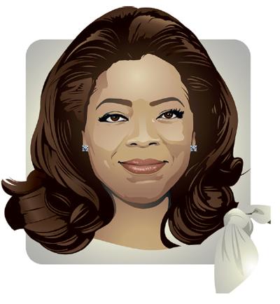oprah clipart