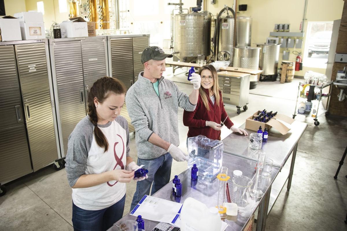 Virus Outbreak Distillery Hand Sanitizer