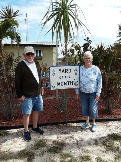 Allards awarded yard of the  month