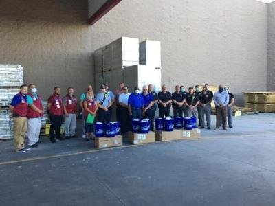 Lowes PPE donation