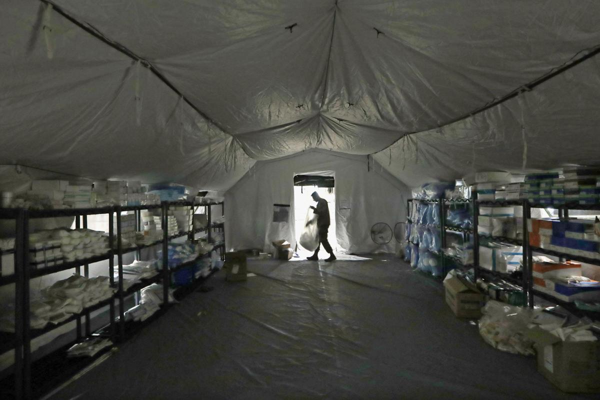 Virus Outbreak Military Retention