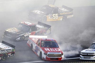 NASCAR Homestead Trucks Auto Racing