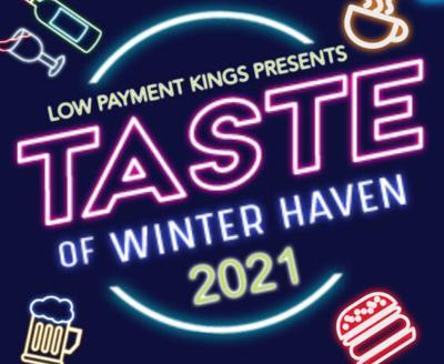 Taste of Winter Haven 2021 Logo