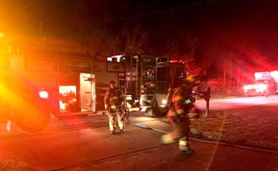 Fire contained to oven