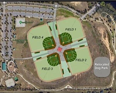 New fields at Northeast Polk park