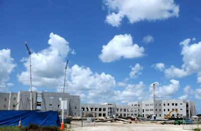 New Davenport High School under construction