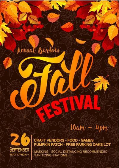 Bartow Fall Fest flyer 2020