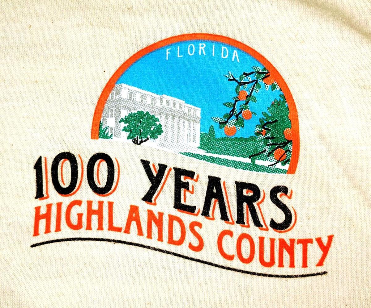Logo for Highlands County Centennial