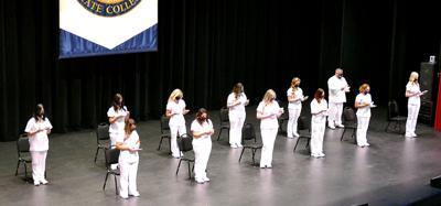 SFSC nursing graduates, pinning