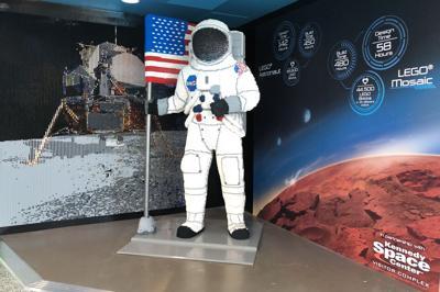 Legoland Florida Space Display
