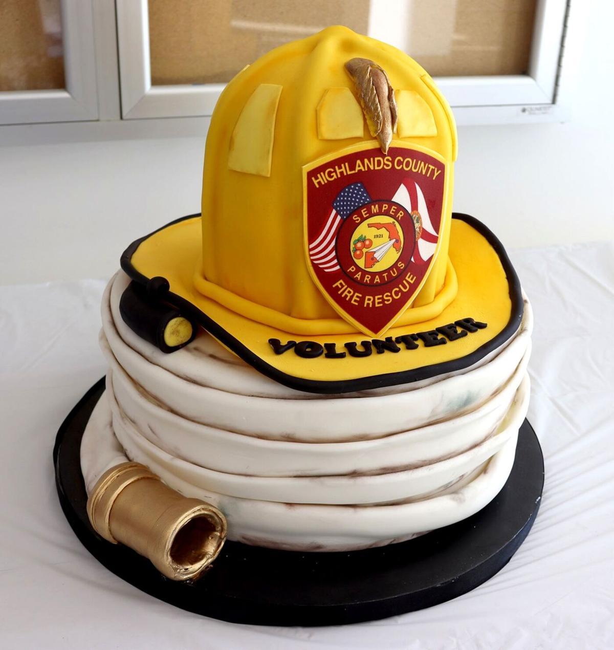 HCFR Helmet and Hose cake