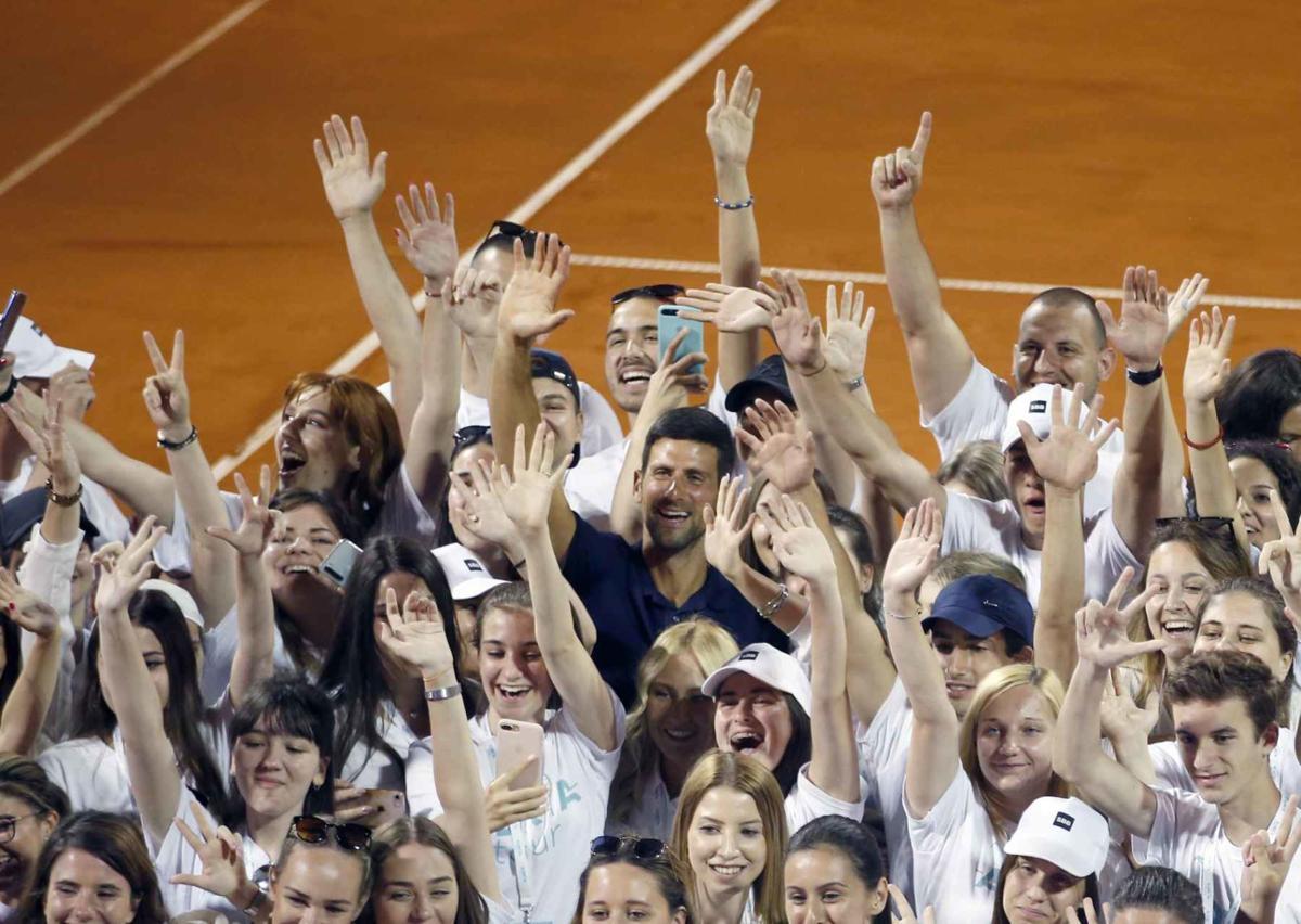 Tennis Djokovic Event Virus Cases