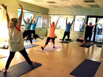 Board pose Yoga For Life Jan 20