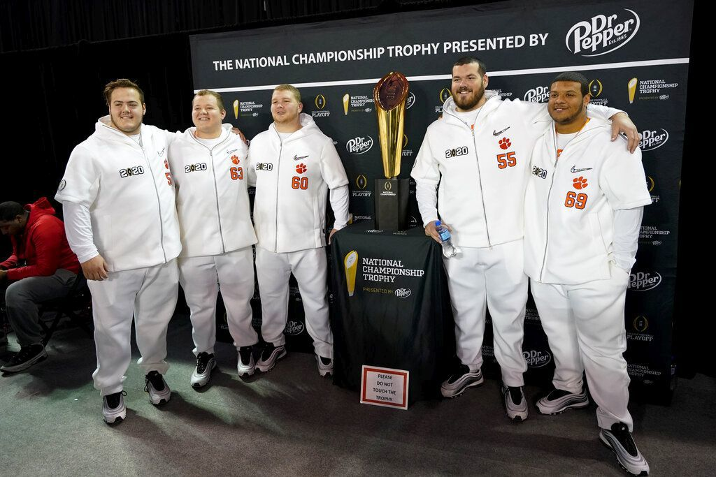 CFP Championship Clemson Football