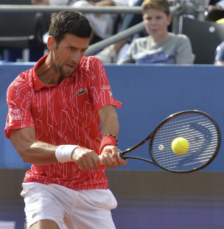 Croatia Tennis Dimitrov Coronavirus