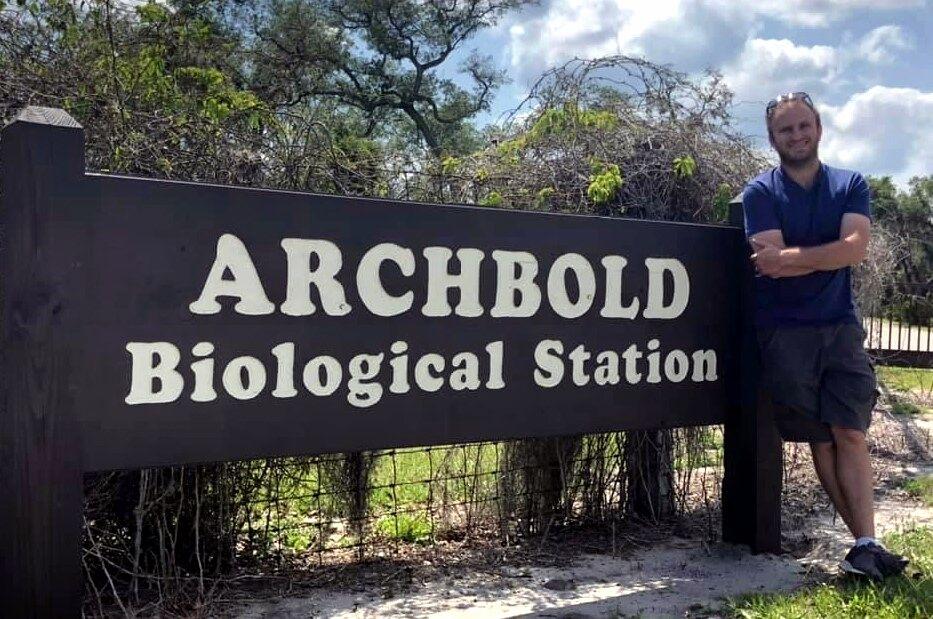 Dr. Aaron David at Archbold
