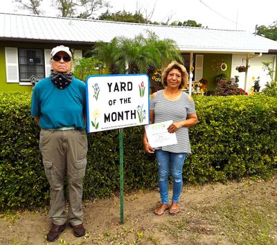 Yard of the Month April 2020