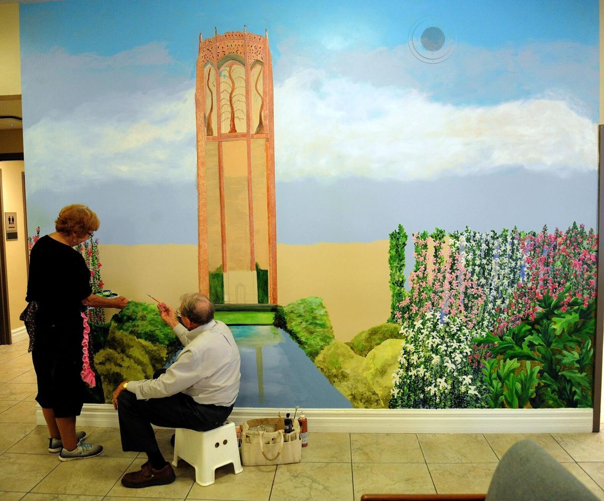 Tom Freeman Bok Tower mural