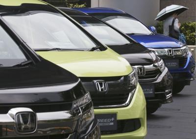Honda display