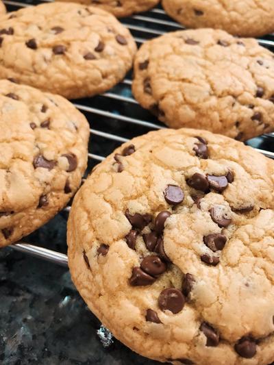 Quarantine Kitchen Chronicles - Chocolate Chip Cookies