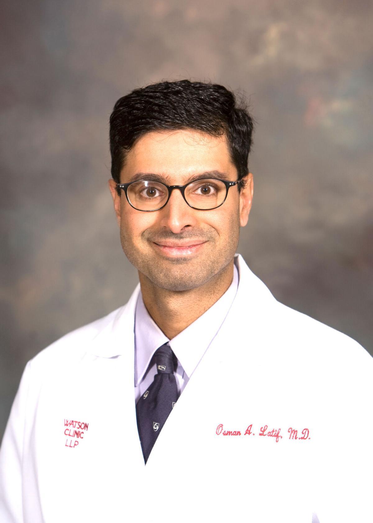Dr Osman Latif headshot