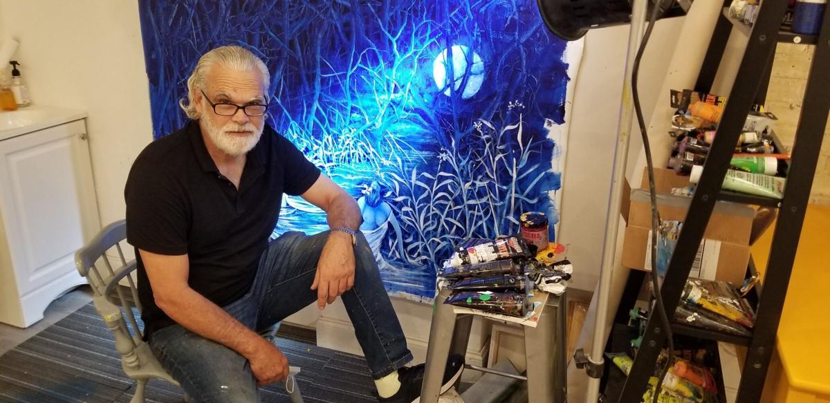 Artist Humberto Benitez