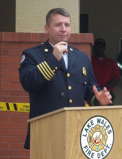 Lake Wales Fire Chief Joe Jenkins