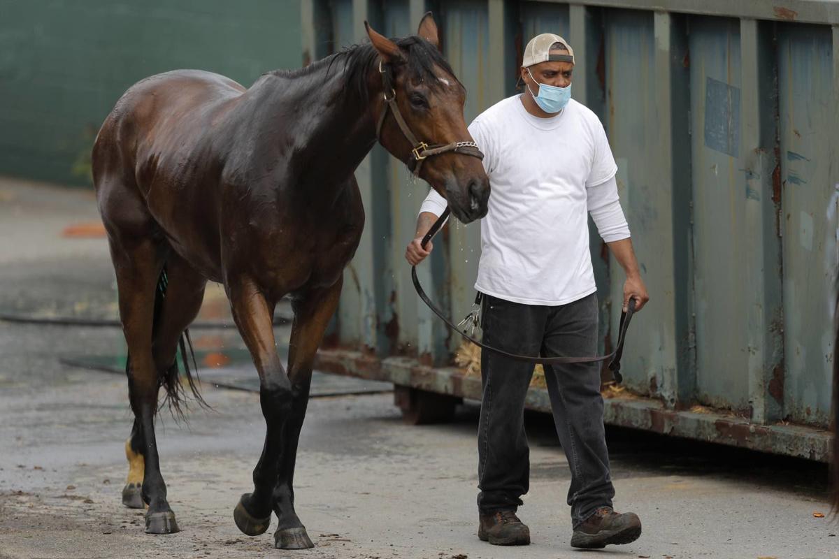 Virus Outbreak Horse Racing