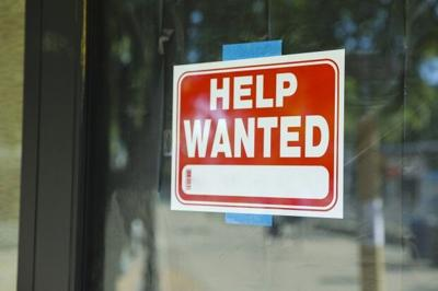 Help Wanted window sign