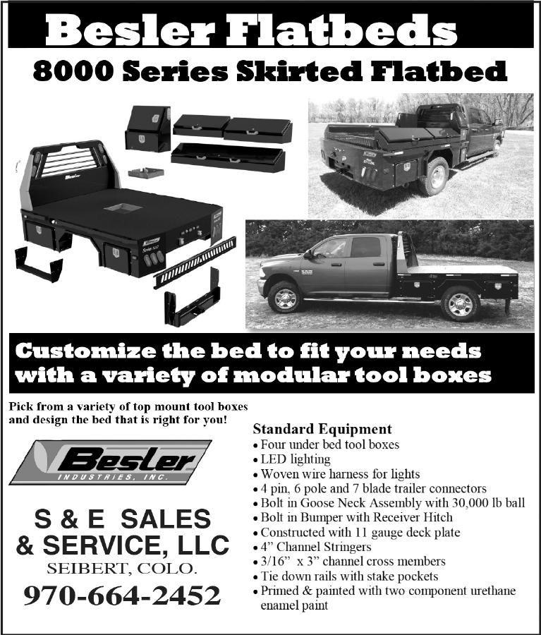 Besler Flatbeds - S & E Sales & Service, LLC