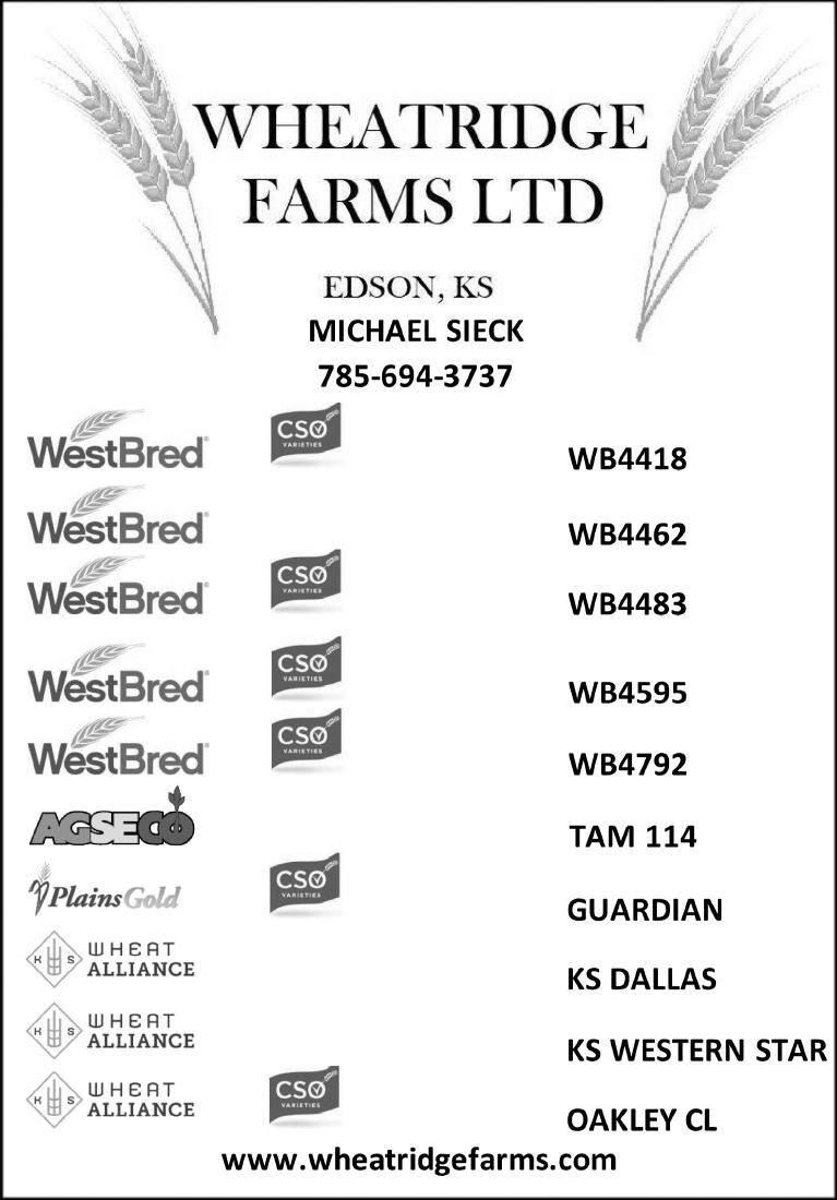 Seed For Sale - Wheatridge Farms