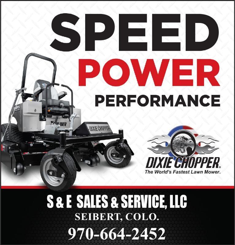 Dixie Chopper Mowers - S&E Sales