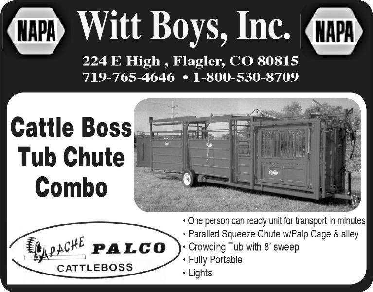 Witt Boys - Apache Chute