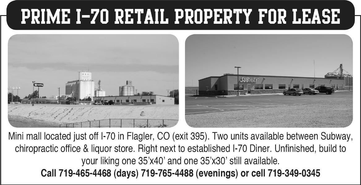 I-70 Retail Property For Lease