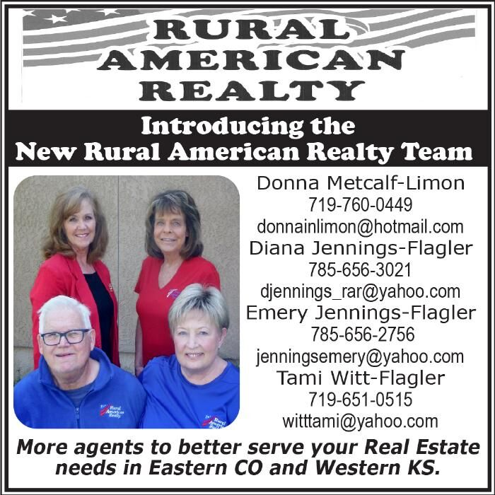 Introducing the New Rural American Realty Team!
