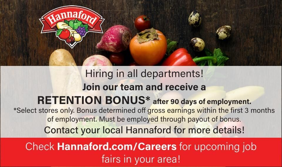 Hannaford is Hiring in All Departments!